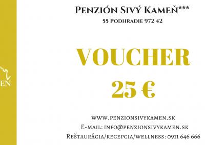 25€ voucher