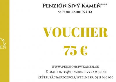 75€ voucher