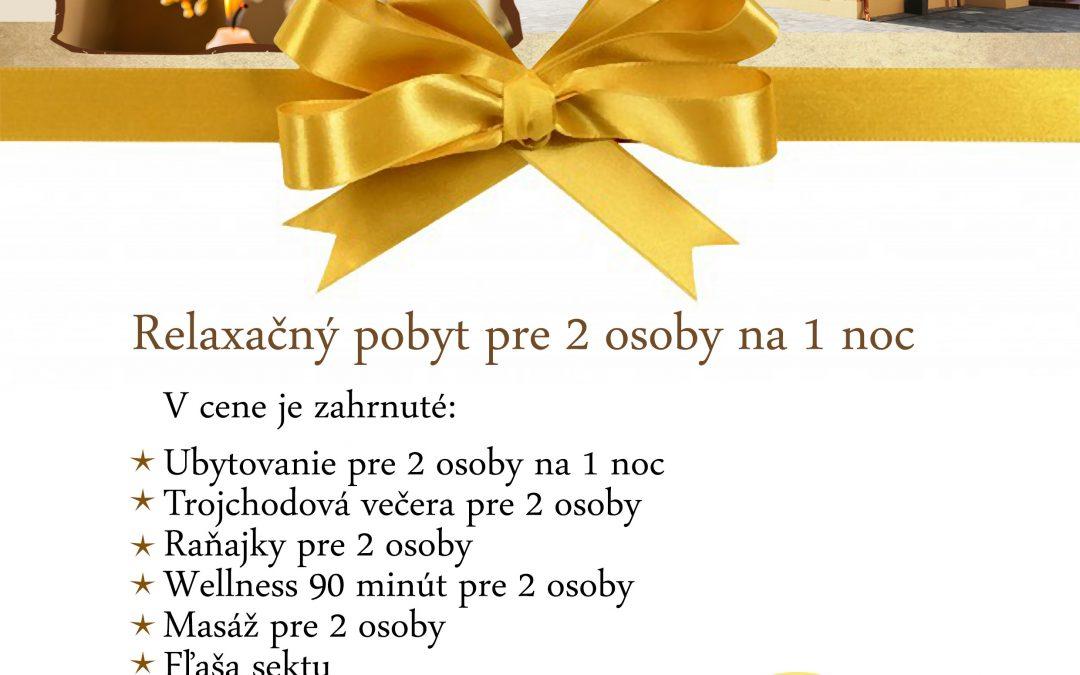 Darčekové vouchery